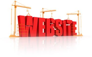 web site construction image