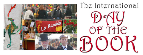 Kensington Day of the Book sign