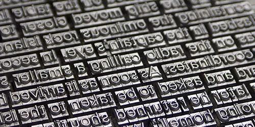 printer typeset